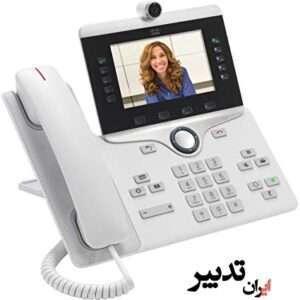 تلفن تحت شبکه سیسکو Cisco CP-8865-W-K9