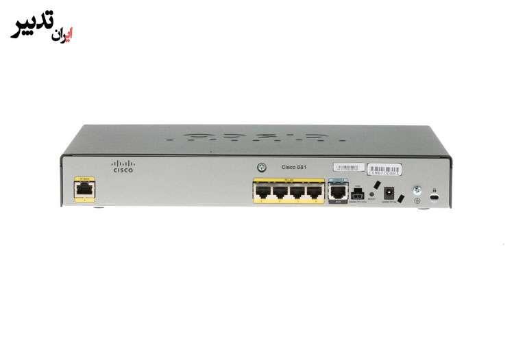 روتر شبکه سیسکو Cisco 881