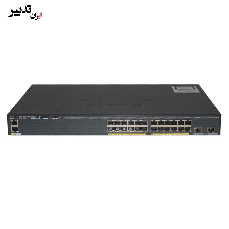 سوئیچ سیسکو Cisco WS-C2960XR-24TD-I