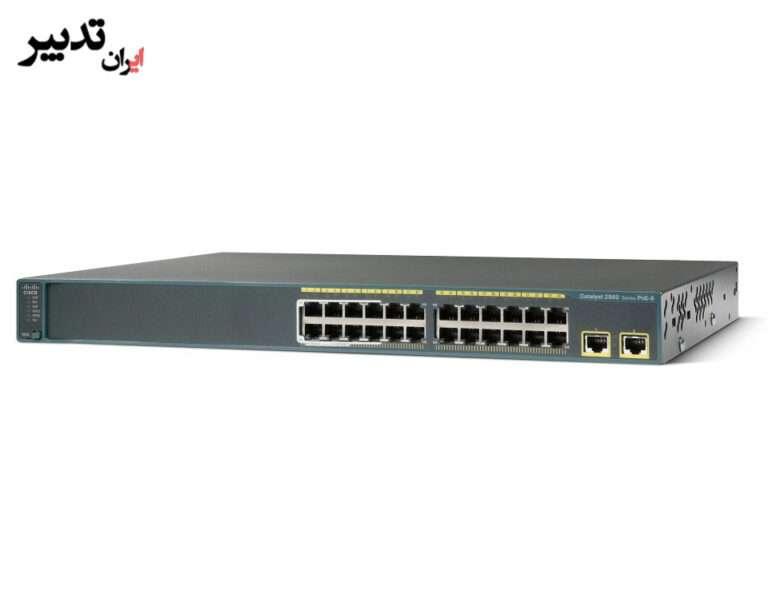 سوئیچ سیسکو Cisco WS-C2960-24LT-L